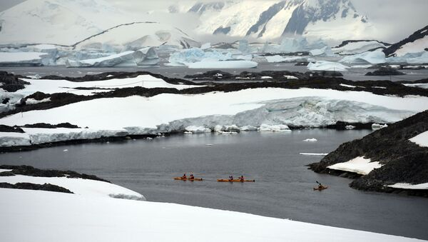 Ledovce na Antarktidě - Sputnik Česká republika