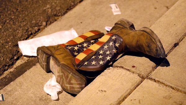 Místo střelby v Las Vegas - Sputnik Česká republika