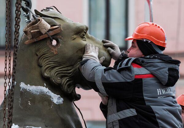 Mystická místa a neobyčejné sochy Petrohradu - Sputnik Česká republika