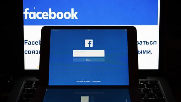 Социальная сеть Фейсбук - Sputnik Česká republika