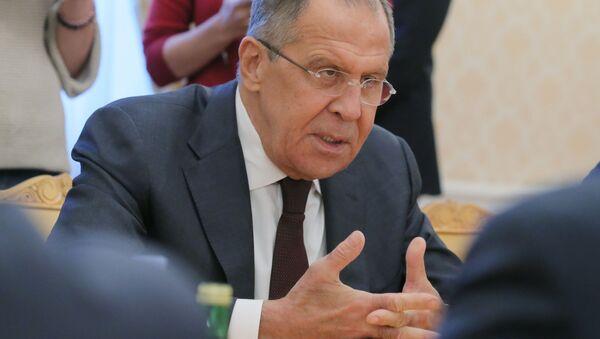 Ministr zahraničí RF Sergej Lavrov - Sputnik Česká republika
