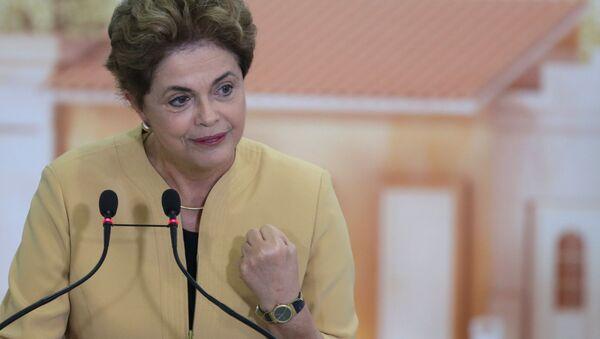 Bývalá prezidentka Brazílie Dilma Rousseffová - Sputnik Česká republika