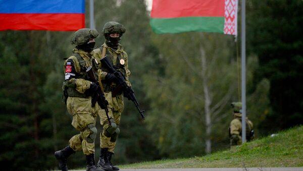 Rusko-běloruské vojenské cvičení Západ 2017 - Sputnik Česká republika