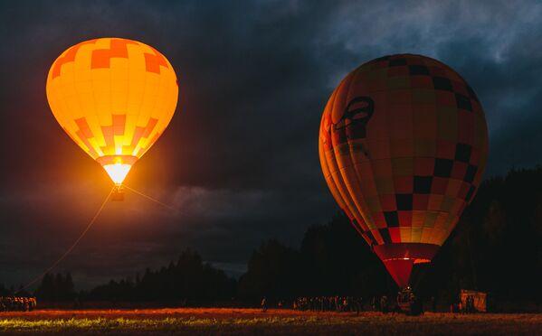 Festival horkovzdušných balónů SkyFlyFest 2017 v Ivanovské oblasti - Sputnik Česká republika
