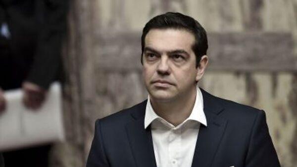 Aleksis Tsipras - Sputnik Česká republika