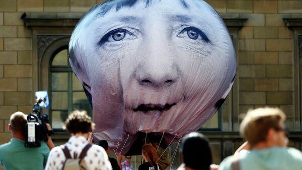 Portrét Angely Merkelové - Sputnik Česká republika