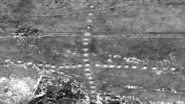 Geoglify na území Kazachstánu - Sputnik Česká republika
