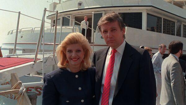 Donald Trump a jeho bývalá manželka Ivana Trumpová - Sputnik Česká republika