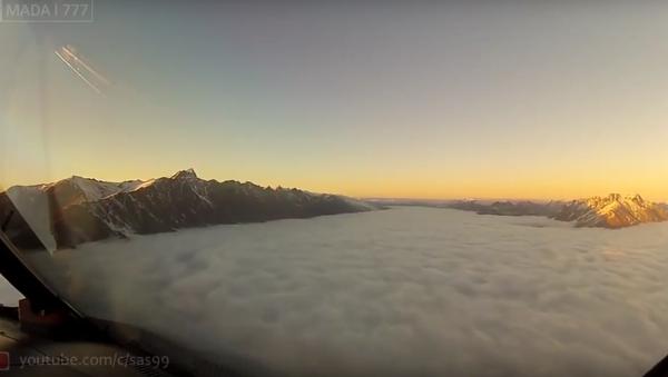Video z kabiny Boeingu zahnalo u uživatelů sociálních sítí přání létat - Sputnik Česká republika