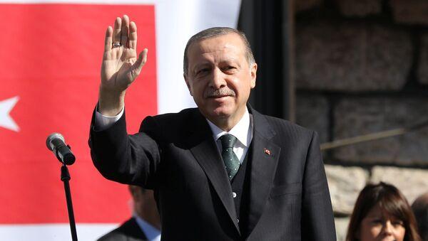 Turecký prezident Recep Erdogan v Srbsku - Sputnik Česká republika
