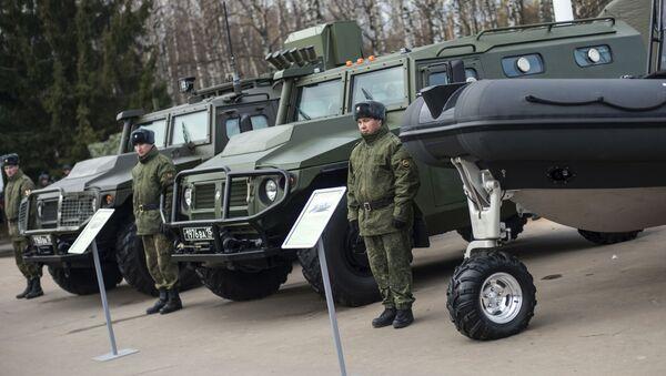 SBM (speciální obrněný vůz) VPK233136 - Sputnik Česká republika