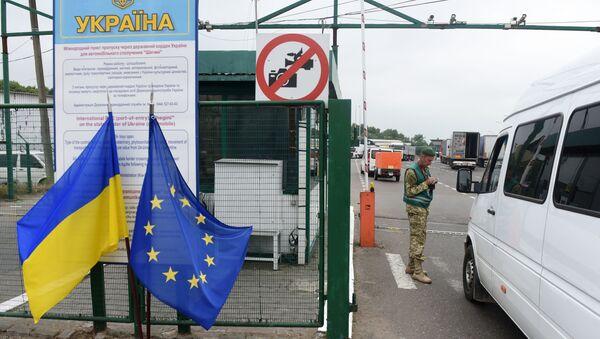Ukrajinská hranice - Sputnik Česká republika