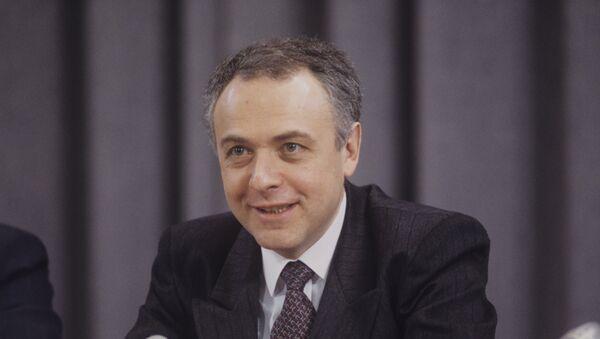 Bývalý ruský ministr zahraničí Andrej Kozyrev - Sputnik Česká republika