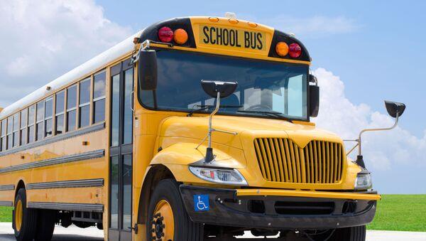 školní autobus, ilustrační foto - Sputnik Česká republika
