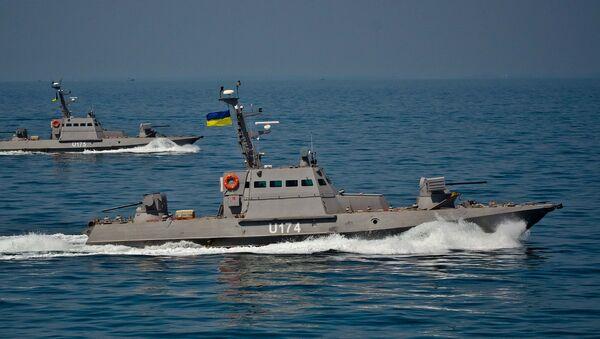 Obrněné čluny Akkerman a Berďansk - Sputnik Česká republika