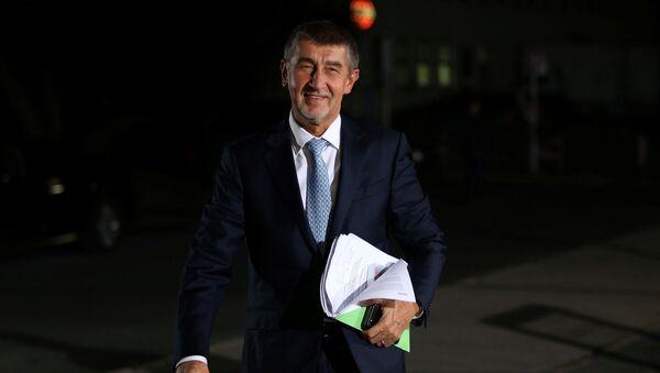 Předseda hnutí ANO Andrej Babiš - Sputnik Česká republika
