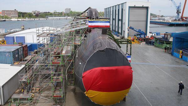 Německá ponorka - Sputnik Česká republika