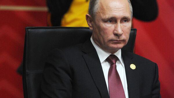 Ruský prezident Vladimir Putin během summitu APEC - Sputnik Česká republika