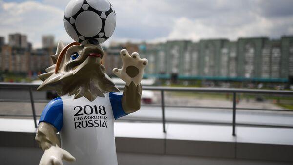 Oficiální maskot MS 2018, vlk Zabivaka - Sputnik Česká republika