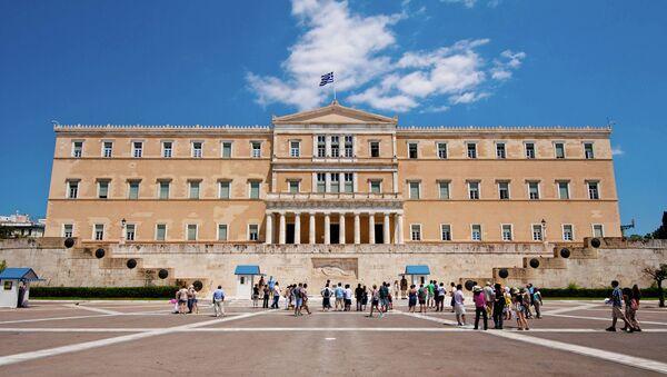 Řecký parlament - Sputnik Česká republika