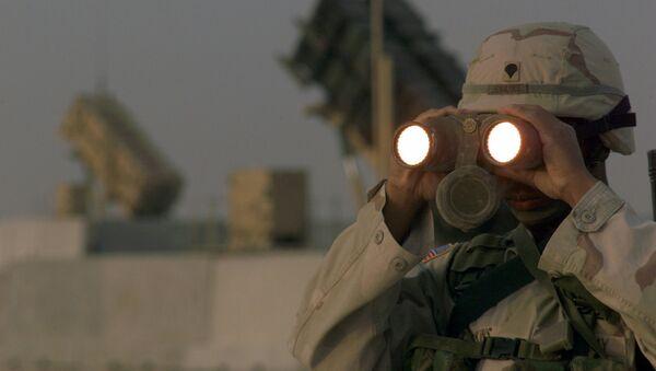 Americký voják - Sputnik Česká republika