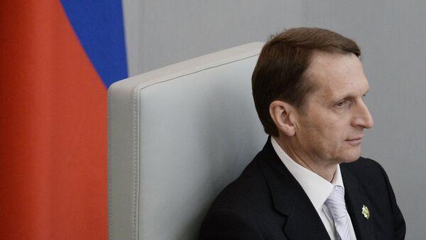 Sergej Naryškin - Sputnik Česká republika
