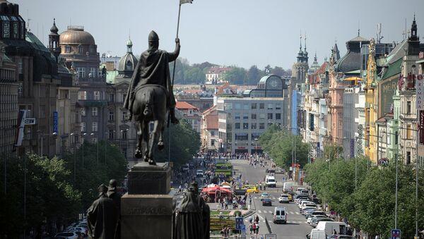 Václavské náměstí v Praze - Sputnik Česká republika