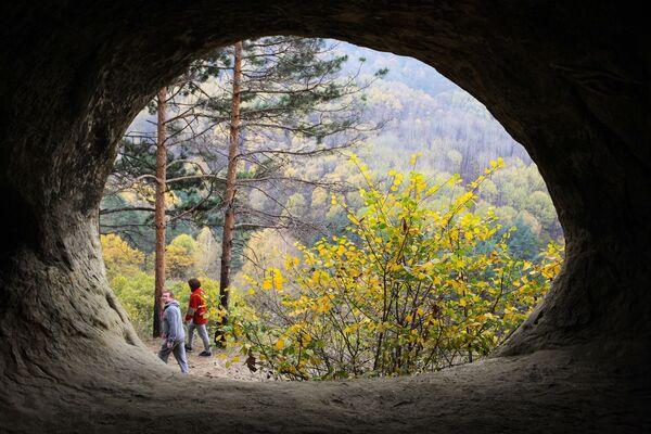 Návštěvníci národního parku Kislovodskij - Sputnik Česká republika