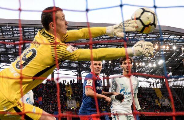 Zápas 14. kola ruské Premier ligy mezi CSKA Moskva a Zenitem Petrohrad - Sputnik Česká republika
