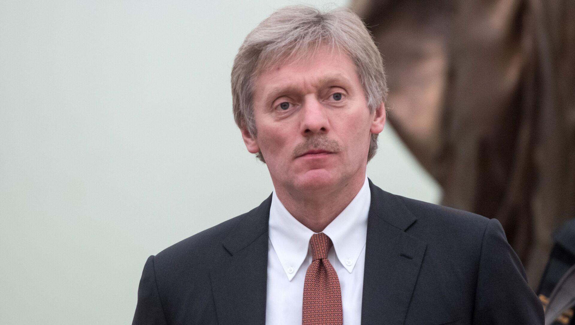 Tiskový tajemník prezidenta RF Dmitrij Peskov - Sputnik Česká republika, 1920, 08.04.2021