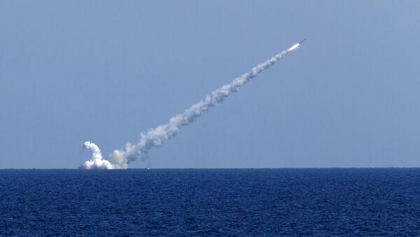 Vypuštění rakety Kalibr - Sputnik Česká republika