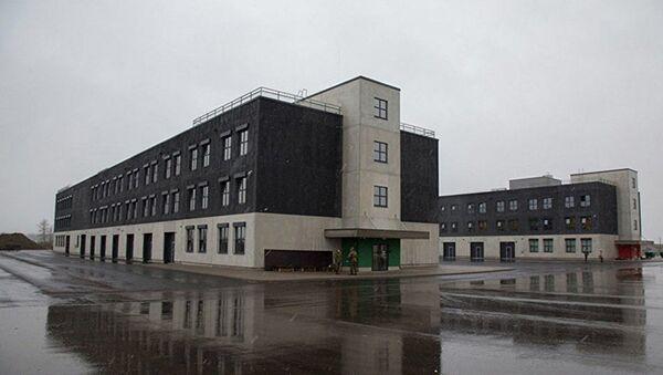 Kasárny v estonském městečku Tapa - Sputnik Česká republika
