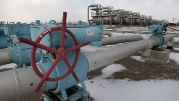 Skladiště plynu na Krymu - Sputnik Česká republika