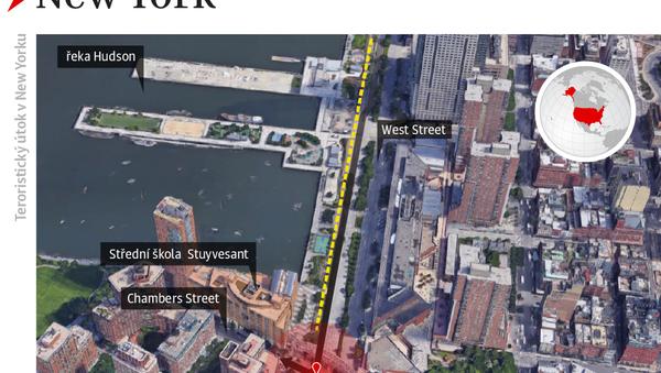 Teroristický útok v New Yorku - Sputnik Česká republika