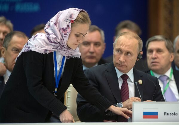 Návštěva Vladimira Putina Íránu - Sputnik Česká republika