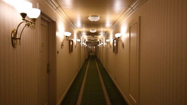 Chodba v hotelu v Moskvě - Sputnik Česká republika