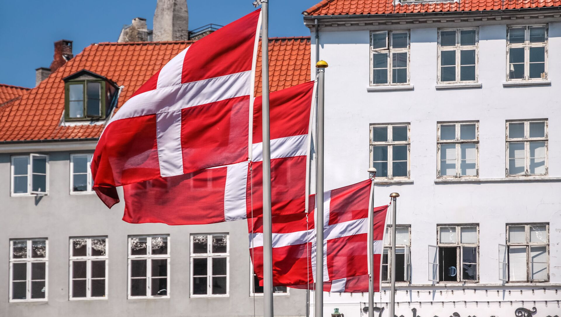 Dánská vlajka - Sputnik Česká republika, 1920, 03.02.2021