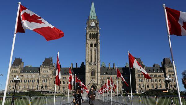 Budova kanadského parlamentu - Sputnik Česká republika