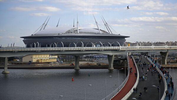 Petrohrad Aréna v Petrohradu - Sputnik Česká republika