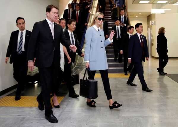 Bezchybný styl Ivanky Trumpové - Sputnik Česká republika