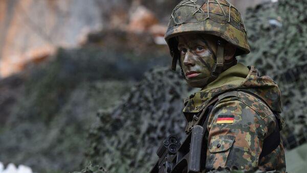 Německý voják - Sputnik Česká republika