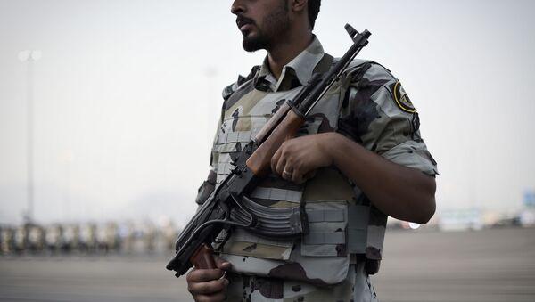 Saúdský policista - Sputnik Česká republika