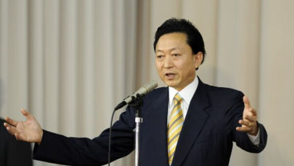 Bývalý japonský premiér Jukio Hatojama - Sputnik Česká republika