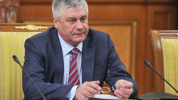 Ministr vnitra RF Vladimir Kolokolcev - Sputnik Česká republika