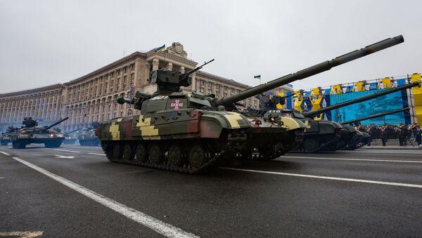 Vojenská přehlídka v Kyjevě - Sputnik Česká republika