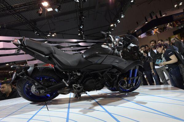 Motocyklová výstava v Miláně: všechno pro motorkáře, který ve vás dřímá - Sputnik Česká republika