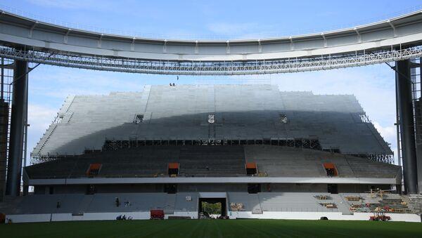 Fotbalový stadion v Jekatěrinburgu - Sputnik Česká republika