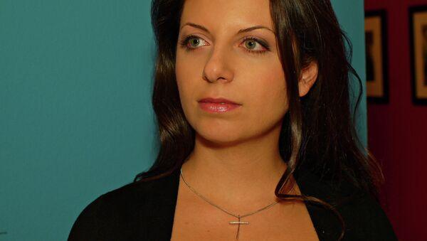 Šéfredaktorka Margarita Simoňanová - Sputnik Česká republika