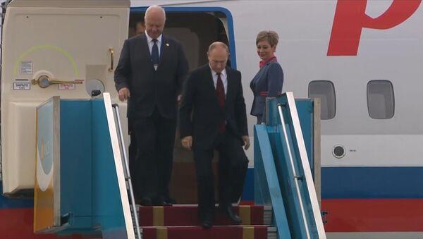 Putin přicestoval do Vietnamu, aby se zůčastnil summitu APEC - Sputnik Česká republika