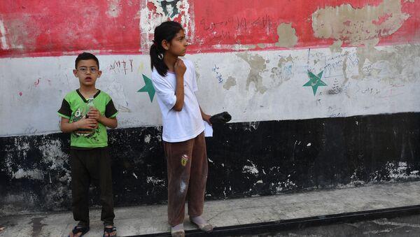 Děti v Damašku - Sputnik Česká republika